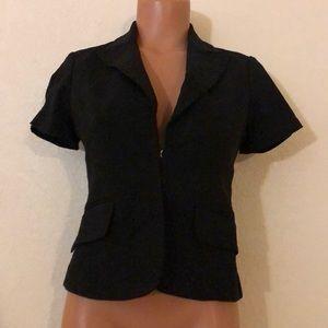 RAMPAGE Black Fitted Blazer Jacket